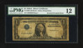 Error Notes:Inverted Third Printings, Fr. 1608 $1 1935A Silver Certificate. PMG Fine 12.. ...