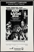 "Movie Posters:Horror, Night of the Living Dead (Continental, 1968). Uncut Pressbook (6 Pages, 11"" X 17.5""). Horror.. ..."