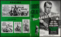 """Movie Posters:Drama, The Great Gatsby (Paramount, 1949). Uncut Pressbook (Multiple Pages, 12.25"""" X 15""""). Drama.. ..."""