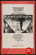 "Movie Posters:Drama, East of Eden (Warner Brothers, 1955). Uncut Pressbook (24 Pages,11"" X 17"" ). Drama.. ..."