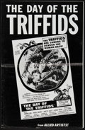 """Movie Posters:Science Fiction, The Day of the Triffids (Allied Artists, 1962). Uncut Pressbook (6 Pages, 11"""" X 17""""). Science Fiction.. ..."""