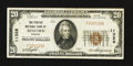 National Bank Notes:Virginia, Bedford, VA - $20 1929 Ty. 1 The Peoples NB Ch. # 11328. ...