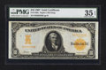 Large Size:Gold Certificates, Fr. 1169a $10 1907 Gold Certificate PMG Choice Very Fine 35 EPQ.. ...