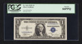Small Size:Silver Certificates, Fr. 1612 $1 1935C Silver Certificate. K-D Block. PCGS Gem New 66PPQ.. ...
