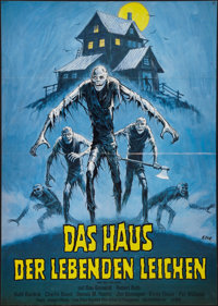 "Don't Go in the House (Pilot, 1980). German A1 (23"" X 33""). Horror"