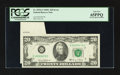Error Notes:Foldovers, Fr. 2070-G $20 1969C Federal Reserve Note. PCGS Gem New 65PPQ.. ...