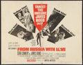 "Movie Posters:James Bond, From Russia with Love (United Artists, 1964). Half Sheet (22"" X 28""). James Bond.. ..."