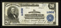 National Bank Notes:Pennsylvania, Burnside, PA - $20 1902 Plain Back Fr. 659 The Burnside NB Ch. #11902. ...