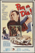 """Movie Posters:Crime, Pay or Die (Allied Artists, 1960). One Sheet (27"""" X 41""""). Crime.. ..."""