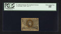 Fractional Currency:Second Issue, Fr. 1246 with extra surcharges 10¢ Second Issue PCGS Choice About New 55.. ...