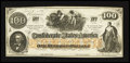 Confederate Notes:1862 Issues, CT41/316A Counterfeit $100 1862.. ...