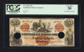 Confederate Notes:1861 Issues, T19 $20 1861.. ...