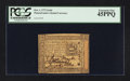 Colonial Notes:Pennsylvania, Pennsylvania October 1, 1773 2s 6d PCGS Extremely Fine 45PPQ.. ...
