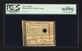 Colonial Notes:Massachusetts, Massachusetts May 5, 1780 $4 PCGS New 61PPQ.. ...