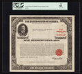 Large Size:Demand Notes, $1,000,000 U.S. Treasury Bond of 1963. PCGS New 61.. ...