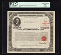 Large Size:Demand Notes, $1,000,000 U.S. Treasury Bond of 1963. PCGS Choice About New 55.....