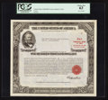 Large Size:Demand Notes, $100,000 U.S. Treasury Bond of 1963. PCGS Choice New 63. . ...