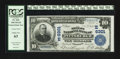 National Bank Notes:Pennsylvania, Pittsburgh, PA - $10 1902 Plain Back Fr. 624 The Mellon NB Ch. #(E)6301. ...