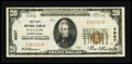 National Bank Notes:Pennsylvania, Patton, PA - $20 1929 Ty. 1 The First NB Ch. # 4857. ...