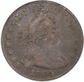 Early Quarters, 1804 25C Fine 15 PCGS. B-1, R.3. CAC....