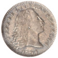 Early Half Dimes, 1794 H10C MS64 NGC. V-4, LM-4, R.4....