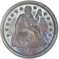 Proof Seated Dimes, 1852 10C PR66 PCGS. CAC....