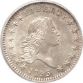 Early Half Dollars, 1795 50C 2 Leaves MS61 PCGS. O-105, R.4. ...