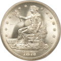 Trade Dollars, 1875-S T$1 MS67 PCGS. CAC....