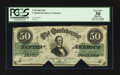 Confederate Notes:1862 Issues, T50 $50 1862 PF-19 Cr. 362.. ...
