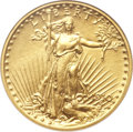 Proof Saint-Gaudens Double Eagles, 1910 $20 PR66 NGC. CAC....