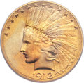 Indian Eagles, 1912-S $10 MS64 PCGS....
