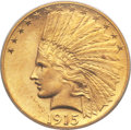Indian Eagles, 1915-S $10 MS64 PCGS....