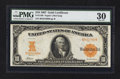 Large Size:Gold Certificates, Fr. 1169 $10 1907 Gold Certificate PMG Very Fine 30.. ...