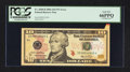 Error Notes:Attached Tabs, Fr. 2040-D $10 2006 Federal Reserve Note. PCGS Gem New 66PPQ.. ...