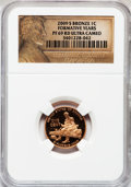 Proof Lincoln Cents, 2009-S 1C Bronze Formative Years, PR69 Red Ultra Cameo NGC. NGC Census: (11794/1671). PCGS Population (4209/269). Numisme...