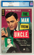 Silver Age (1956-1969):Adventure, Man from U.N.C.L.E. #4 Northland pedigree (Gold Key, 1966) CGC NM+ 9.6 Off-white to white pages....
