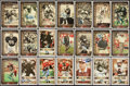 Football Collectibles:Photos, College Football Hall of Fame Signed Photographs Lot of 33....