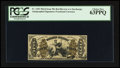 Fractional Currency:Third Issue, Fr. 1355 50¢ Third Issue Justice PCGS Choice New 63PPQ.. ...