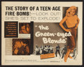 "Movie Posters:Bad Girl, The Green-Eyed Blonde (Warner Brothers, 1957). Half Sheet (22"" X28""). Bad Girl.. ..."