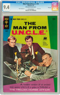Silver Age (1956-1969):Adventure, Man from U.N.C.L.E. #10 File Copy (Gold Key, 1967) CGC NM 9.4 Off-white to white pages....
