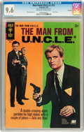 Silver Age (1956-1969):Adventure, Man from U.N.C.L.E. #12 File Copy (Gold Key, 1967) CGC NM+ 9.6 Off-white to white pages....
