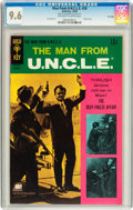 Silver Age (1956-1969):Adventure, Man from U.N.C.L.E. #20 File Copy (Gold Key, 1968) CGC NM+ 9.6 Off-white to white pages....