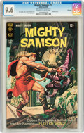Silver Age (1956-1969):Adventure, Mighty Samson #15 File Copy (Gold Key, 1968) CGC NM+ 9.6 Off-white to white pages....