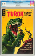 Silver Age (1956-1969):Adventure, Turok, Son of Stone #50 File Copy (Gold Key, 1966) CGC NM- 9.2 Off-white pages....