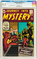 Silver Age (1956-1969):Horror, Journey Into Mystery #74 (Marvel, 1961) CGC VF+ 8.5 Off-white towhite pages....