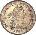 Early Dimes, 1798 10C Small 8 MS64 PCGS. CAC. JR-3, R.5....