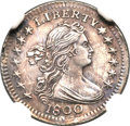 Early Half Dimes, 1800 H10C MS64 NGC. V-1, LM-1, R.3....