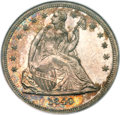 Proof Seated Dollars, 1840 $1 PR64 NGC. CAC....