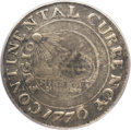 Colonials, 1776 $1 Continental Dollar, CURRENCY, Pewter VF25 PCGS. CAC. Newman2-C, W-8455, R.3...