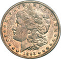 Morgan Dollars, 1893-S $1 AU55 PCGS....